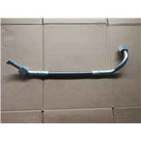 Air compressor outlet pipe