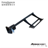 Right rear rubber shock absorber bracket assembly