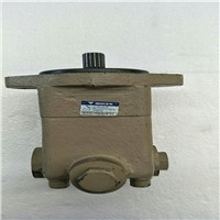 Steering booster oil pump
