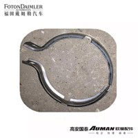 Exhaust Brake Butterfly Valve Exhaust Pipe Clamp