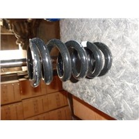 Rear suspension coil spring