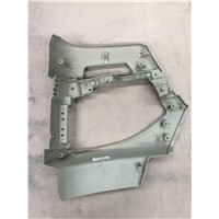 Right Bumper Assembly (Standard Floor Belt Decoration Board)