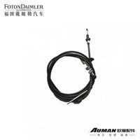Throttle control cable assembly