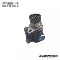 Steering oil pump assembly