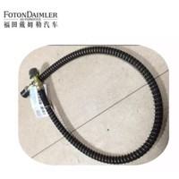 Air-conditioning hose pressure plate