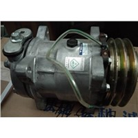 Compressor assembly (belt pulley diameter 123)