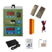 SUNKKO 787A + Spot Welding + Wire-controlled Foot Pedal Switch Spot Welding + Single-cell Battery Charging, Testing 18650 Battery