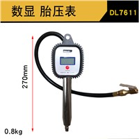 Deli Digital Tire Pressure Gauge, 0.5-10Bardry battery, DL7611