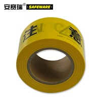 SAFEWARE, Warning Isolation Tape (CAUTION) 7cm130m PE Material, 11109