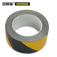SAFEWARE, Reflective Warning Tape (Yellow/Black) 5cm22m Engineering Grade Reflective Film, 14207
