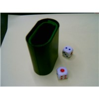 Dice with Cup(Square)