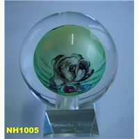 Inner Painting Crystal Ball NH1005