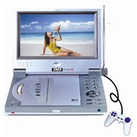"7"" Portable DVD Player with MP4"