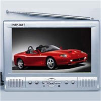 "7"" Portable MP4 Player with TV, 30GB HDD, USB"