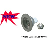 1W/3W high power LED MR16 Lamps