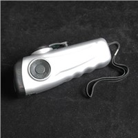 Dynamo Rechargeable Flashlight with Logo Printing