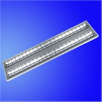 Grille ceiling light fixture