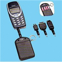 3501 Emergency Mobile Phone Charger with Four Plug