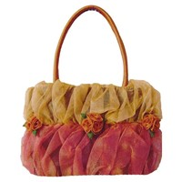embroidery silk handbag from Dung Viet Co.,Ltd