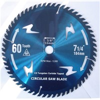 Tungsten Carbide Tipped Circular Saw Blades, TCT