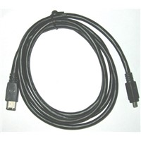 IEEE 1394 6P TO 4P FIREWIRE CABLE