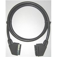 SCART Cable with 8mm,9mm or 10mm Diameter