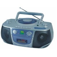 Portable Radio Cassette Recorder With CD / MP3 / V