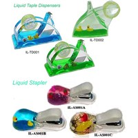 Liquid tape dispenser,liquid stapler with floater