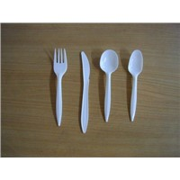plastic disposable cutlery