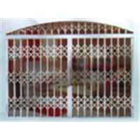 steel expandable doors, gates, barriers, fency. et