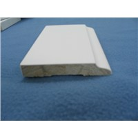 primed finger joint wood moulding