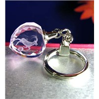 crystal key chain