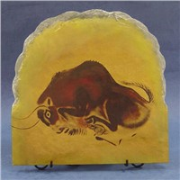 Oil painting stone