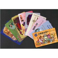 Blank and Preprinted Plastic Cards