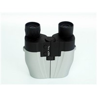 Electronic power zoom binocular