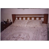 Lace bed sheet