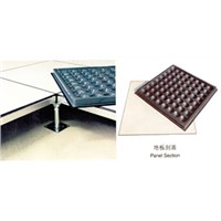 anti-electrostatic floor