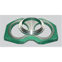 wear parts for concrete pump(wear plate and ring)