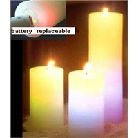 led candles, magic & color changing