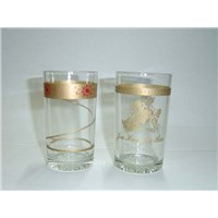 Glass Advertising Cups