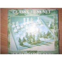 Glass International Chess Set