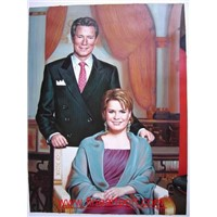 portrait oil painting from customers`photos