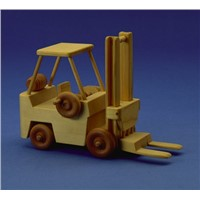 Wooden Toy Forklift