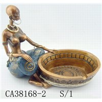 Black Woman Ashtray
