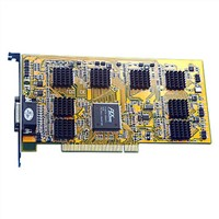Software Compression DVR Card, H.264 Card, SAA7130
