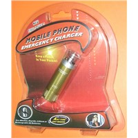 Mobile phone/Ipod/Mp3/Mp4 Emergency Charger