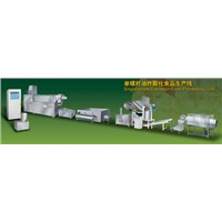 Oil Fried food  processing line