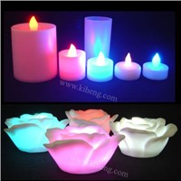 LED Flashing Candle