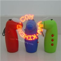 LED Programable Message Fan