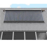 SWH with Copper Heat Pipe Solar Collector